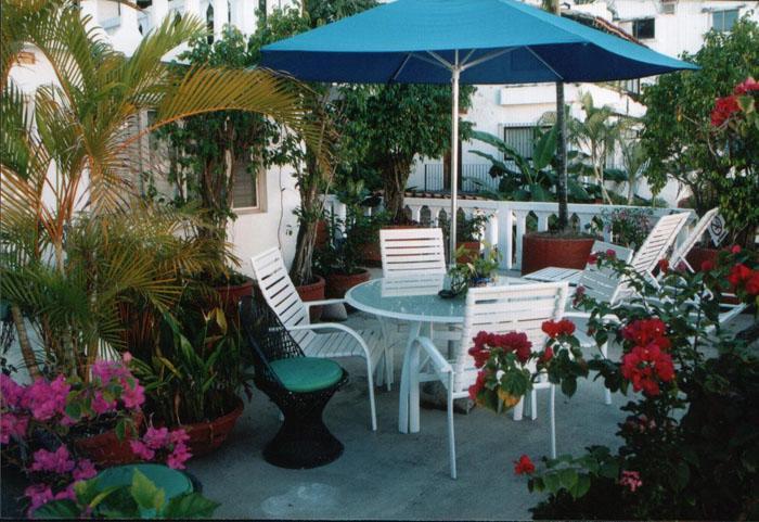Tropical Deck - Casa Jasmine - Stunning Los Muertos Beach Paradise - Puerto Vallarta - rentals