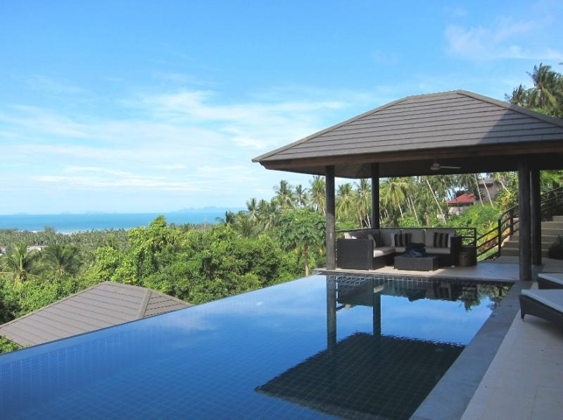 Infinity pool with sunset views - Sunset Heights Villa Koh Samui - Koh Samui - rentals