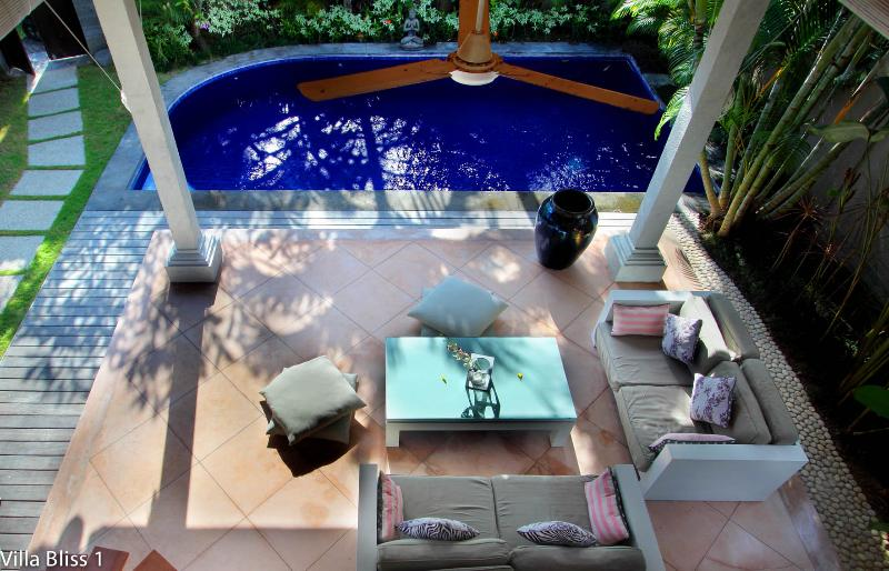 "Your private paradise! Living Room view from small bedroom - Villa Bliss 1 near Seminyak ""Pure Bliss"" - Seminyak - rentals"