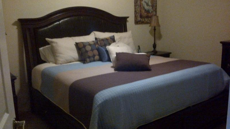 Master Bedroom - New Heritage Bay Brookside Condo - Unlimited Golf - Naples - rentals