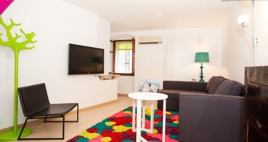 Living room - a modern studio apartment in Cres, Croatia - Cres - rentals