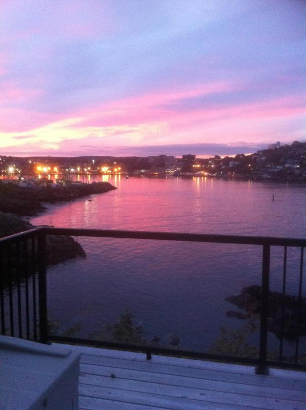 View of St. John's from deck - Cottage by the Sea - Fort Amherst - Saint John's - rentals