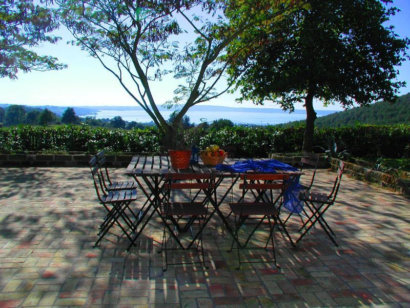 Lakeview Patio - Large Lakefront Villa near Rome, Private Pool - Trevignano Romano - rentals