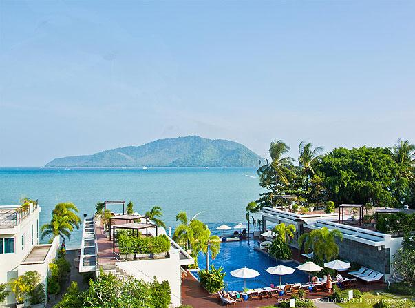 View from Terrace - Luxury Sea View Penthouse in Rawai - Rawai - rentals