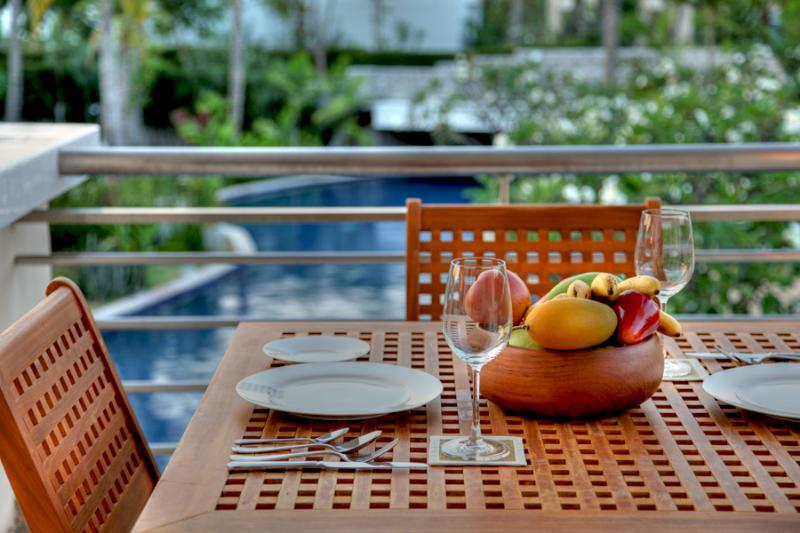 Outdoor Terrace overlooking Pool - Blue Lagoon Resort Hua Hin Apartments - Hua Hin - rentals