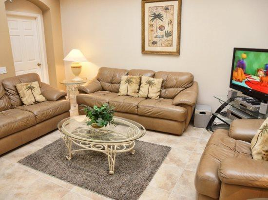 Living Area - WP5P8200FPW Luxury Vacation in Orlando Disney World - Orlando - rentals