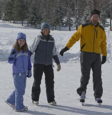 Ice skating - New Hampshire Eastman Resort Mountain / Lake Home - Grantham - rentals