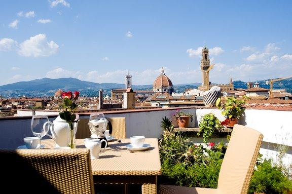 View from the terrace - Amazing panoramic terrace with Florence view - Florence - rentals