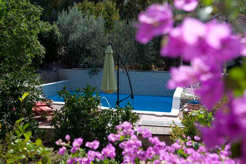 garden and swimming pool - Villa donna Sunshine 2+2 apartment - Trogir - rentals