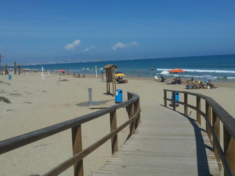 access to the beach - lovely bungalow in Gran Alacant (Alicante-Spain) - Gran Alacant - rentals