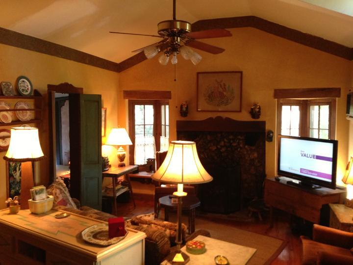 Cozy & Spacious Gathering Place with Fireplace - Deer Meadow Cabin in Eureka Springs - Eureka Springs - rentals