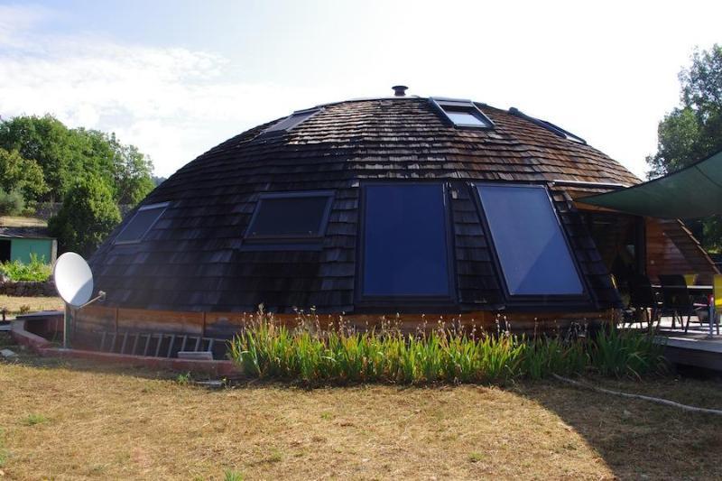 Exterior view of home - Le Dôme, Eco-friendly villa, Saint Cézaire sur Siagne - Saint-Cezaire-sur-Siagne - rentals
