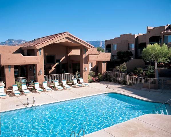 Another one of the outdoor pools - 2 BR Mesa Suite - Sedona Summit Resort - Sedona - rentals