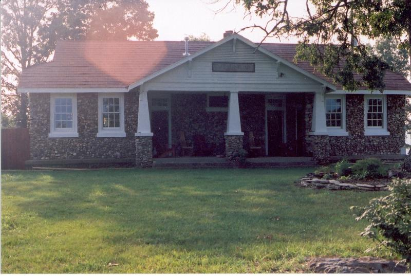 Built in the 1920s, CSH was converted to a home in the 1990s - Ozark Vacation Rental listed on the National Register - Omaha - rentals