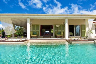 St. Martin Villa 118 The Perfect Honeymoon Escape, With Clear Lagoon Views Of The Ocean. - Image 1 - Terres Basses - rentals