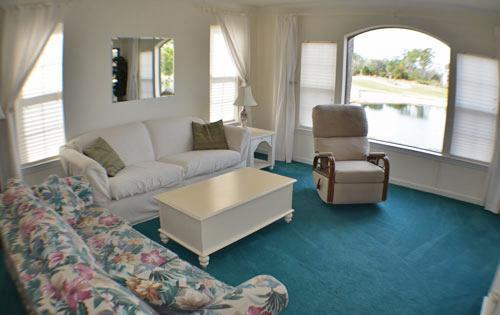 Spacious living area - True Blue Pawleys Island 3BR, near beach/WiFi/pool - Pawleys Island - rentals