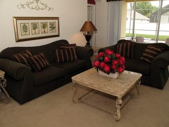 Living Area - WP4P8150FPW Comfy Vacation Haven with Game Console and Spa - Orlando - rentals