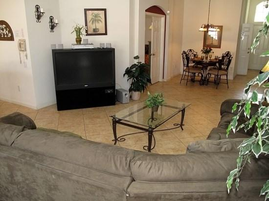 Interior View - WP4P8154FPW Ideal Vacation House in Kissimmee with Pool and Jacuzzi - Orlando - rentals