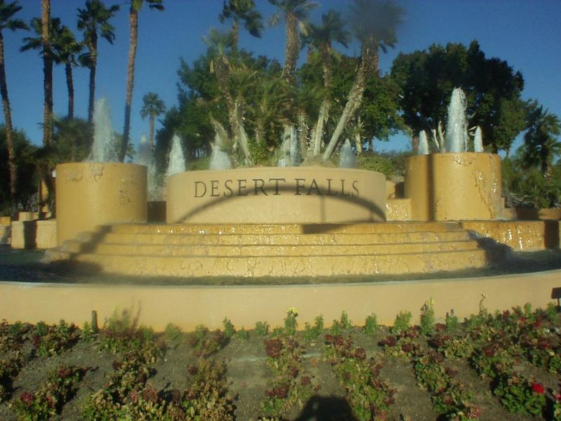 Country Club entrance - Great Golfing and Relaxation in Desert Palms - Palm Desert - rentals