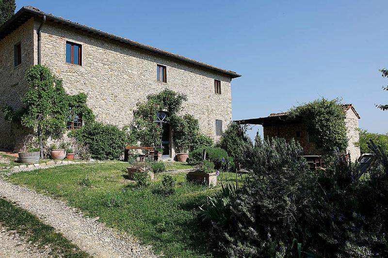 casa erta - Beautiful Tuscan country house with pool, Chianti - San Casciano in Val di Pesa - rentals