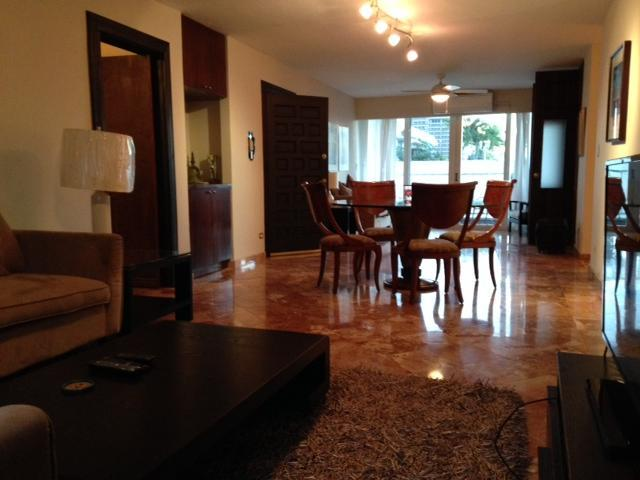 Living room and dinning room - Tranquil 4Bd Apartment By Condado Beach - San Juan - rentals