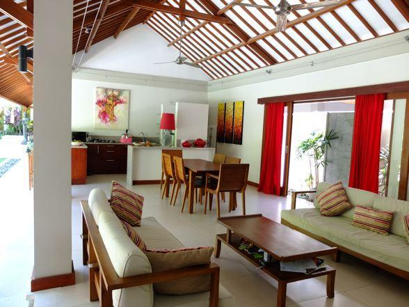 Large calm & bright serviced villa - Image 1 - Bali - rentals