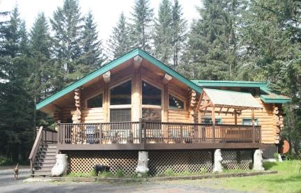Bear Paw Lodge is the perfect home away from home! - Bear Paw Lodge : Beautiful Custom-Built Log Home ! - Seward - rentals