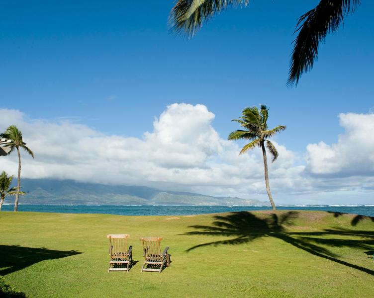 Relax on the private lawn - #1 Beachfront on Maui's North Shore. - Paia - rentals