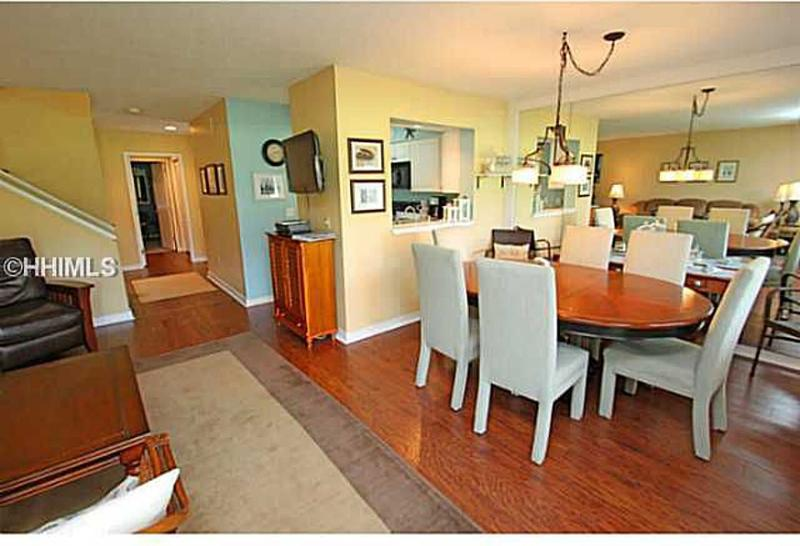 Open Dining Room - Inverness 2B Villa, Palmetto Dunes On Golf Course - Hilton Head - rentals