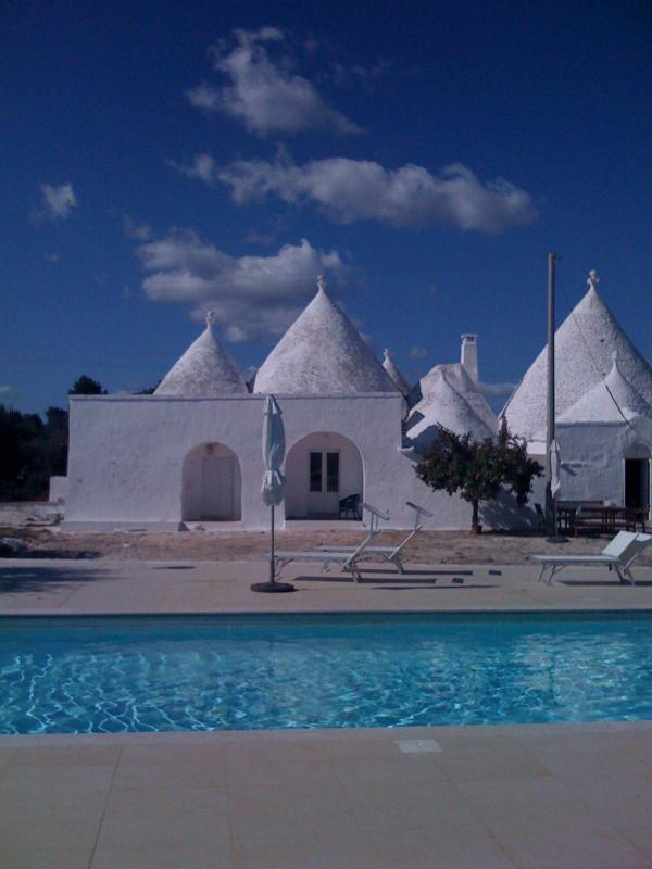 pool - Trulli Tarturiello, hilltop big trullo with nice pool - Ceglie Messapica - rentals