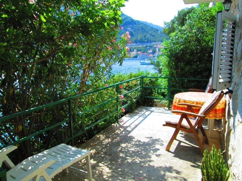 terrace - Mljet island Pinia amazing view apartments - Sobra - rentals