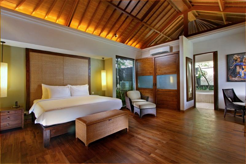 Master bedroom at 2 Bedrooms Pool Villa - The Akasha Luxury Private Pool Villa Seminyak Bali - Seminyak - rentals