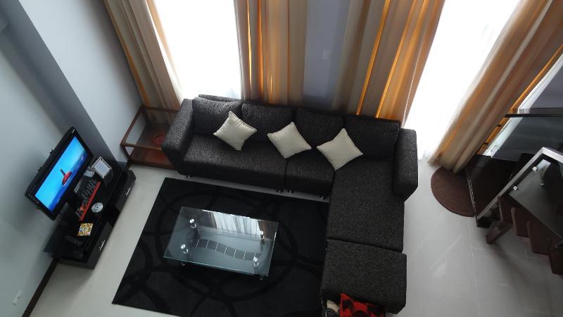 Living area - 1BR Loft - Eastwood Vacation and Rental - Quezon City - rentals