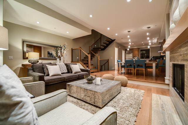 Open concept - beautiful contemporary living space - Whistler Ideal Accommod:Deluxe 4 bedroom plus media room - Whistler - rentals