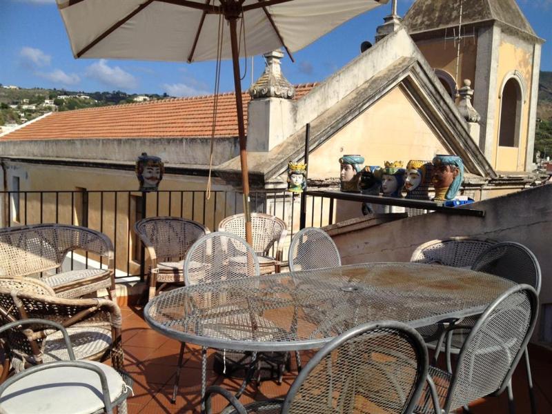 Terrace - Casa Annamaria - Lipari Aeolian Island - Lipari - rentals