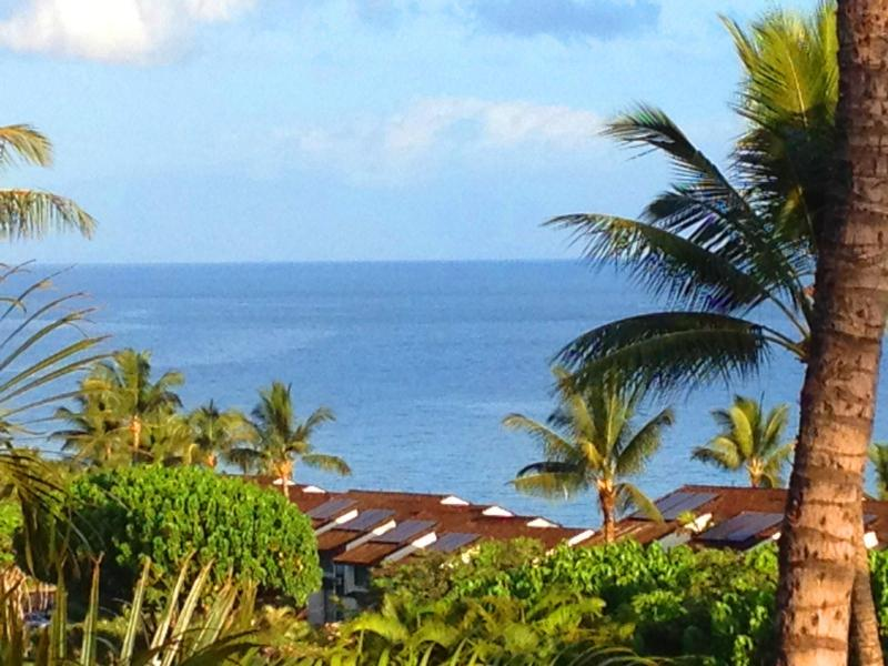 Ocean View from Lanai - Spectacular Ocean View - Great Deal on Luxury 2 Bedroom 2 Bath Condo - Kihei - rentals