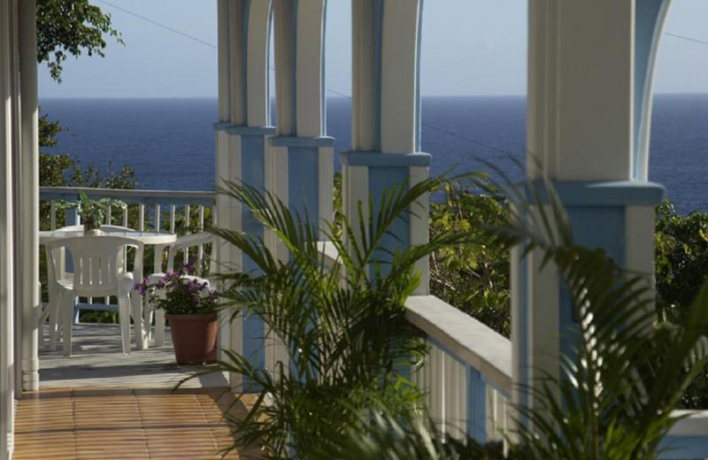 Villa Sundance Balcony Views - Starshine Villa-Traditional Style 3 Bed/3 Bath, Pool, Hot Tub, and Sunset Views! - Cruz Bay - rentals