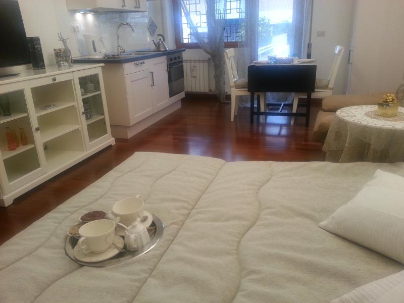 View of the room - Lovely studio with terrace! - Rome - rentals