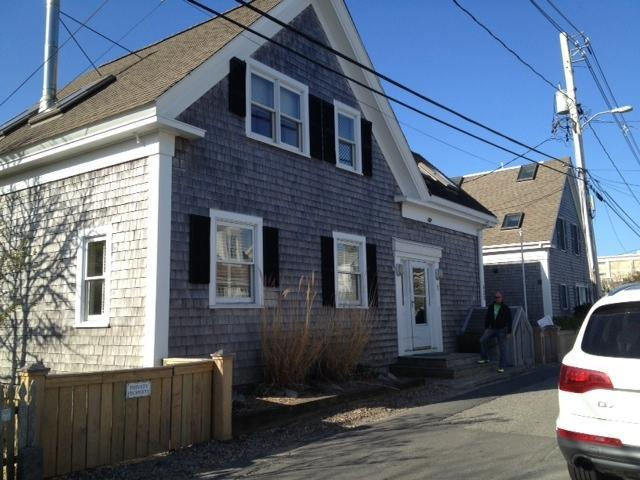 523 Commercial - street facing front. - P-Town East End Bay Front Gem - Provincetown - rentals