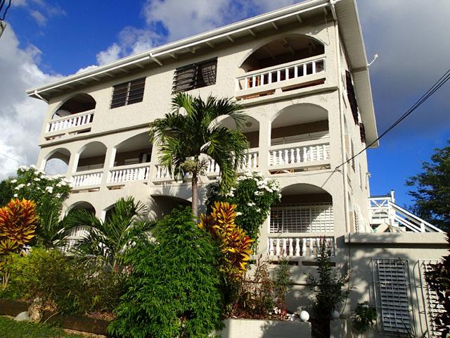 Building Front - Home Away from Home - Steps from the Beach! - Frederiksted - rentals