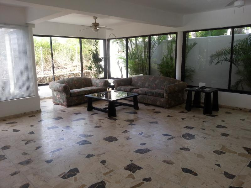 big livingroom with open kitchen - great ocean view house in gated community - Puerto Plata - rentals