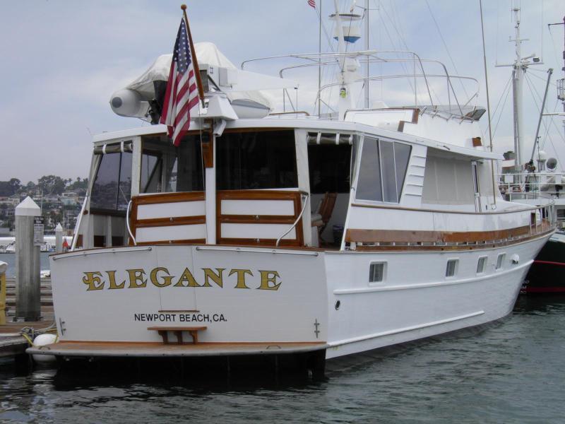 "Elegante Dockside - LUXURY YACHT - ""ELEGANTE""  BOAT, BED & BREAKFAST - Pacific Beach - rentals"