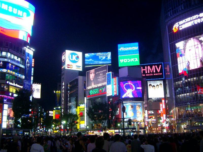 Overview of Shibuya, all this action just minutes away from the apartment! - BEST LOCATION, HEART OF SHIBUYA! - Shibuya - rentals