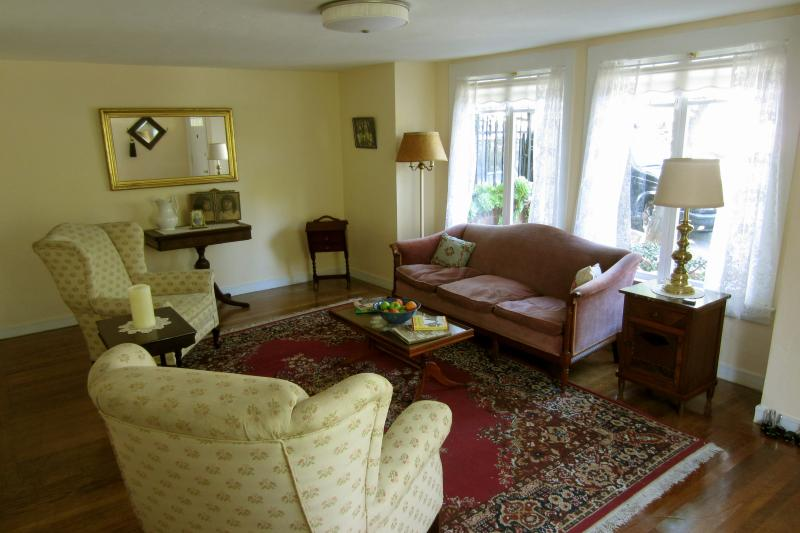 Living room filled with many antiques! - Castro Garden Paradise - San Francisco - rentals