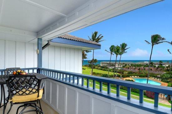 lanai - Free Car* with Poipu Sands 222 --OCEAN VIEW, newly remodeled, 2bd/2bath - Poipu - rentals