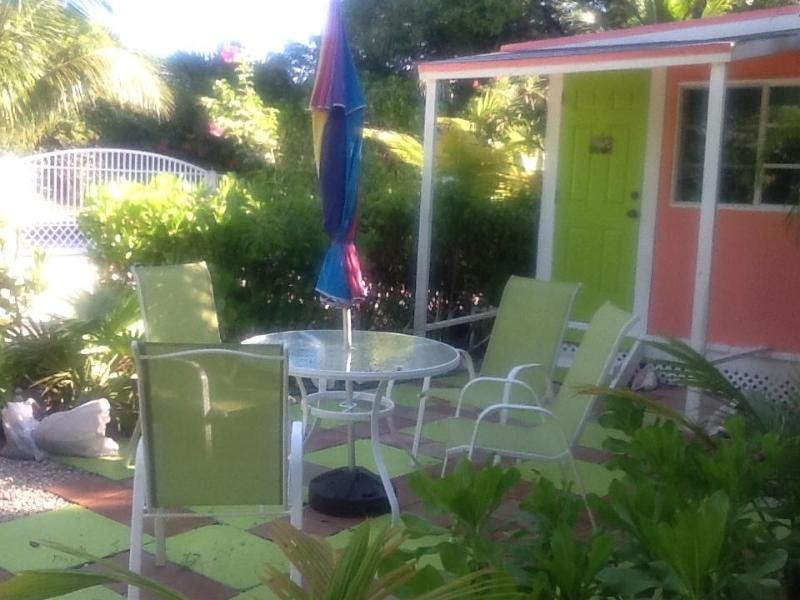 Garden area - Sea Grape Studio at Diamonds bythe Sea - Freeport - rentals