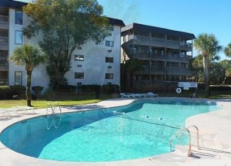 Pool - 417 Ocean Dune Villas - Hilton Head - rentals