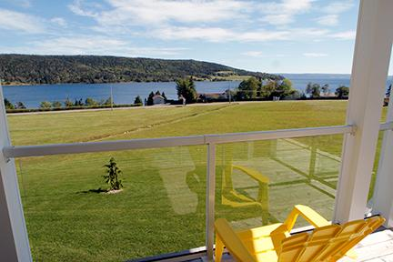 Views from the condos - #46 Aster 3, Baddeck  NS - Baddeck - rentals