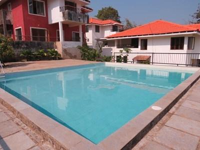 Pool - 57) 5* VILLA  WITH STAFF in BRITONA sleeps 8 - Goa - rentals