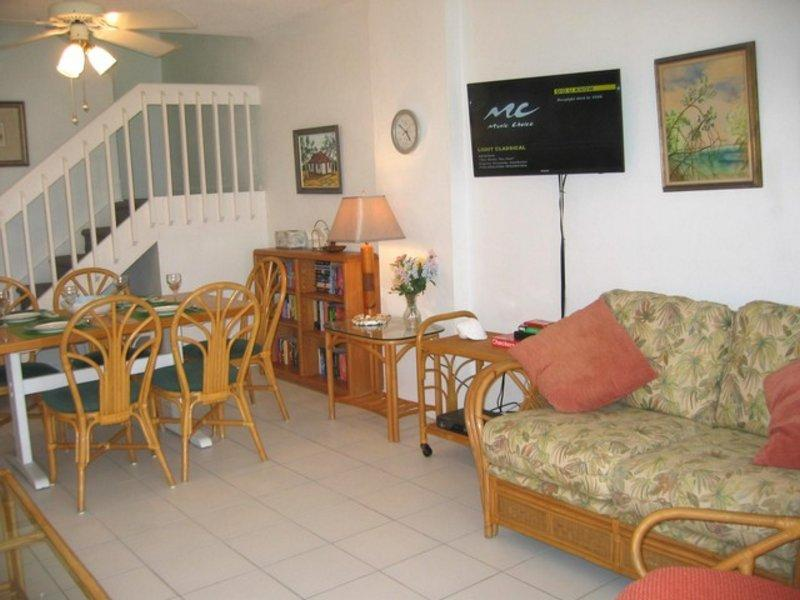 LivingRoom - Family Fun - #11 Harbour Heights 7MB - Seven Mile Beach - rentals